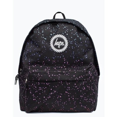 HYPE 英國品牌 MARBLE SPECKLE BACKPACK 黑色 漸層 潑漆 圓點 經典款 後背包