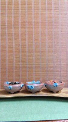(店舖不續租清倉大拍賣)陳永皓先生--三角小缽,原價每個2000元特價每個1000元