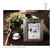 【芮洛蔓 La Romance】Milano 系列歐式編織風 - 亮銀 / 相本照片紀念日結婚禮物