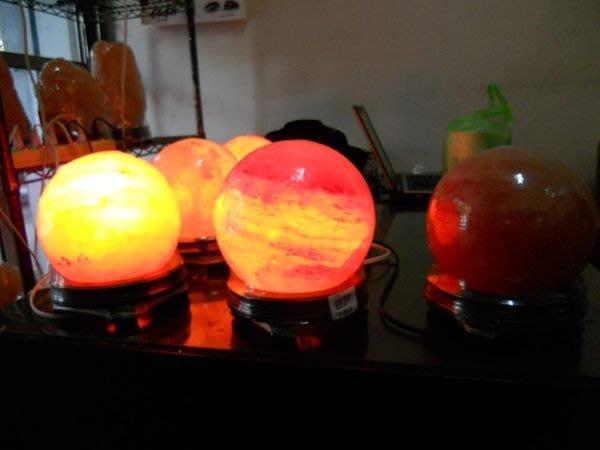 圓球鹽燈圓形鹽燈造型鹽燈供佛鹽燈鴿血紅鹽燈~~圓滿如意有求必應~【東大開運館】