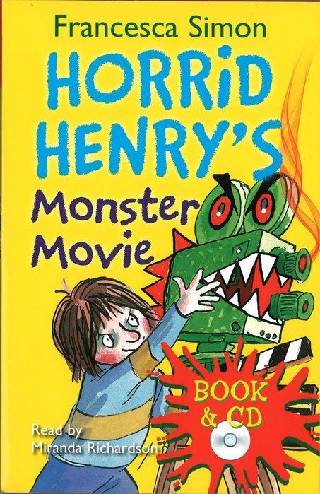 *小貝比的家*HORRID HENRY'S MONSTER MOVIE/平裝書+CD/7~12歲