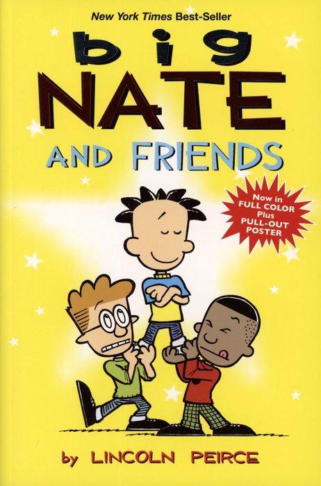 *小貝比的家*BIG NATE AND FRIENDS /漫畫版/平裝/7~12歲