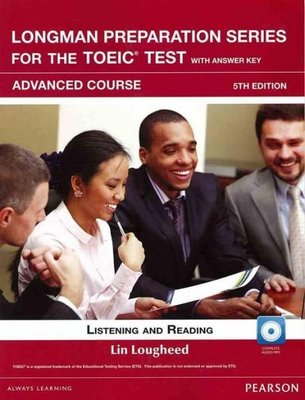 LONGMAN PREPARATION SERIES FOR THE TOEIC TEST含光碟 ( 二手書)