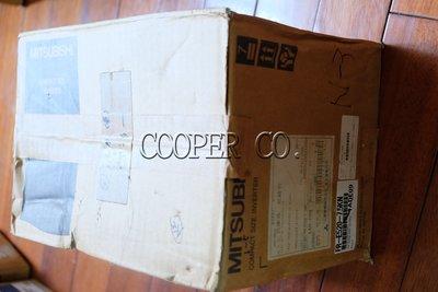 【Cooper.Co】Mitsubishi 三菱FR-E520-7.5KN 變頻器控制器全新品中古良品停產品現貨銷售維修
