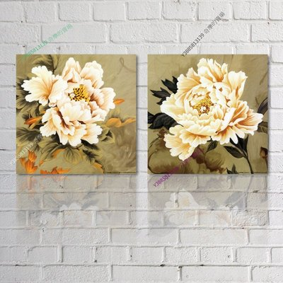 【30*30cm】【厚0.9cm】印象花卉-無框畫裝飾畫版畫客廳簡約家居餐廳臥室牆壁【280101_172】(1套價格)