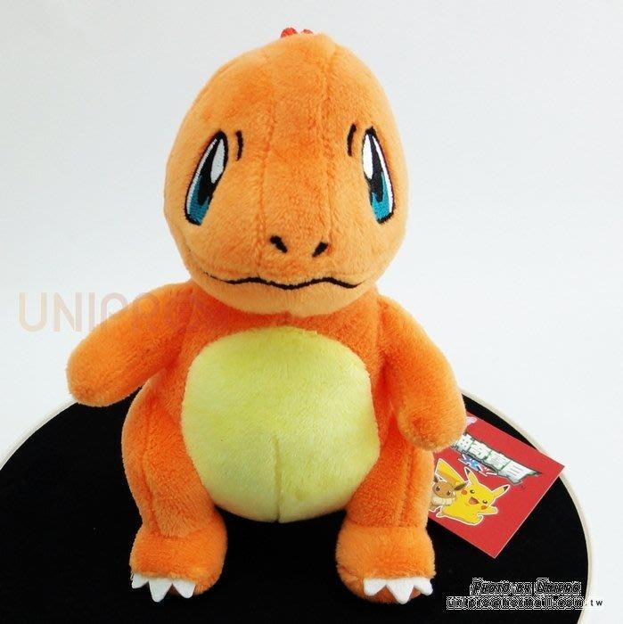 【UNIPRO】神奇寶貝 XY 小火龍 15公分 絨毛娃娃 玩偶 吸盤吊飾 禮物 正版授權 寶可夢 Pokemon Go