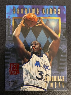 Shaquille O'Neal 1995-96 Ultra Scoring Kings Hot Packs #8