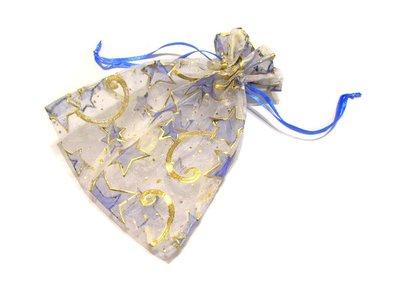 風姿綽約--雪紗花袋(001) ~適合本站手環,小吊飾