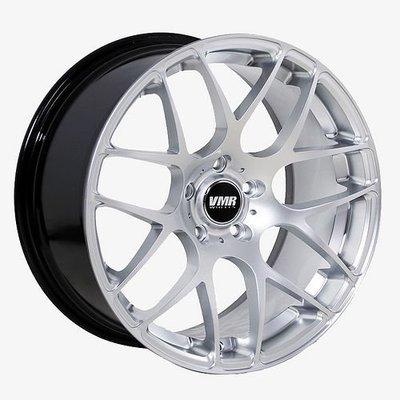 【汽車零件王】VMR 鋁圈 V710 5x112 ET35 19x8.5 銀色