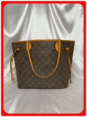 【 RECOVER 名品二手 】LOUIS VUITTON Never Full MM