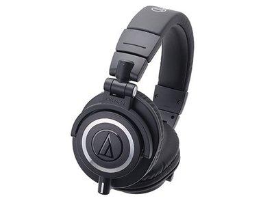 《小眾數位》可試聽 鐵三角 ATH-M50X 專業用監聽耳罩式耳機 公司貨 另有 M40X M60X SRH940