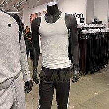 美國AMPM Calvin Klein 凱文克萊 CK 男士 棉質舒適背心 短袖內衣 二件裝NB1099 NB1088