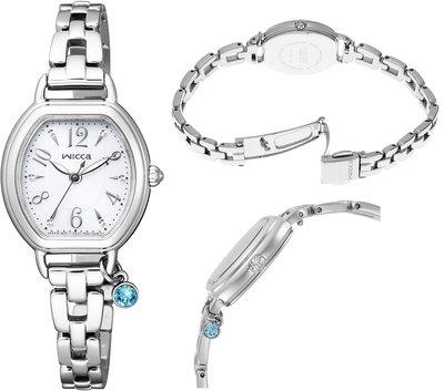 日本正版 CITIZEN 星辰 wicca KP2-515-11 手錶 女錶 太陽能充電 日本代購