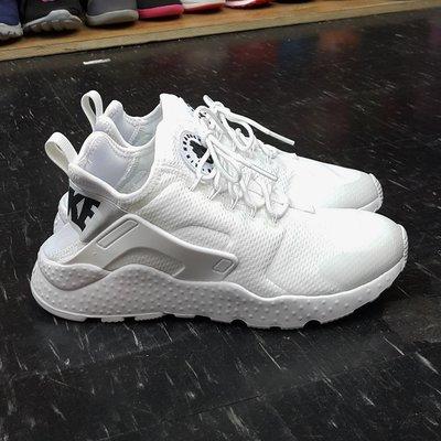 NIKE AIR HUARACHE RUN ULTRA 白武士 武士鞋 2代 白色 全白 白底黑字 819151-101