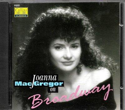 喬安娜麥格雷戈Joanna Macgregor / Macgregor On Broadway(大不列版)