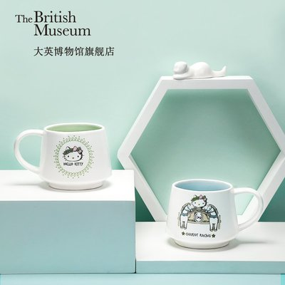 大英博物館X Hello Kitty 聯名款希臘系列馬克杯禮品送人畢業禮物馬克杯