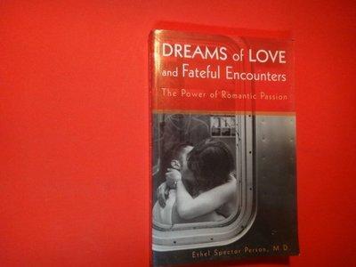 【愛悅二手書坊 H22-35】DREAMS of LOVE and Fateful Encounters