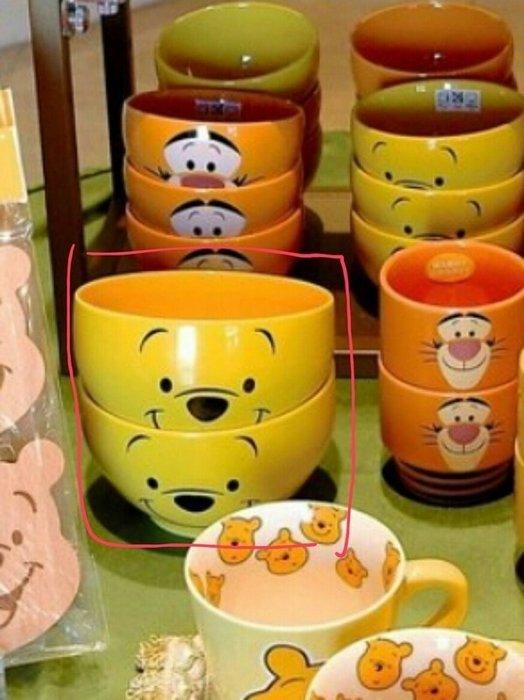 Ariel's Wish-日本東京迪士尼Diseny樂園限定發售款-小熊維尼winnie飯碗碗盤餐碗碗公(大)-現貨*1