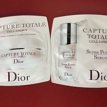 Dior Capture Totale Cell Energy 精華 + 面霜 試用裝 每包1.5ml sample $10=2包 包平郵