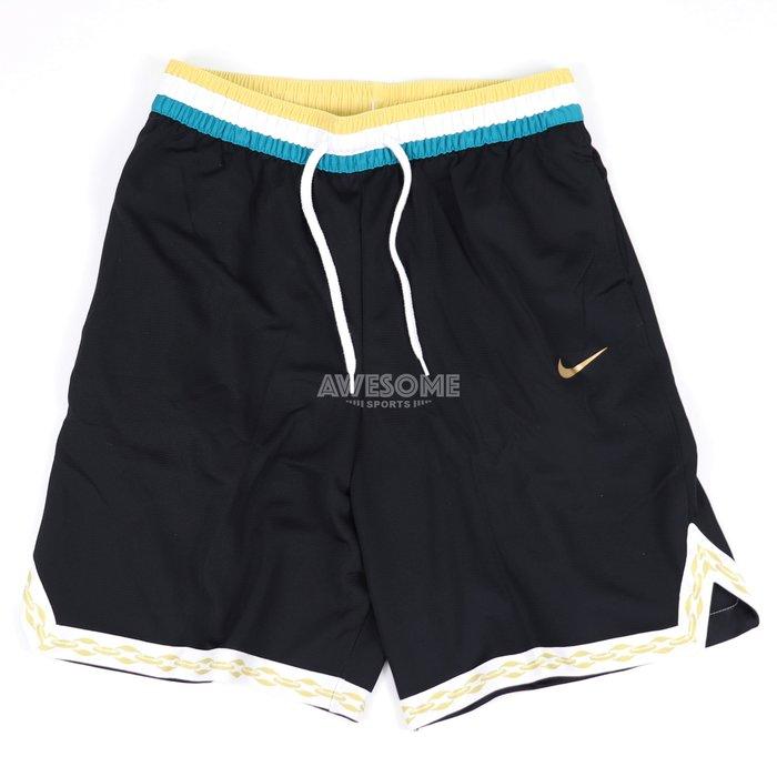 [歐鉉]NIKE DRY DNA 黑色 抽繩 鬆緊帶 拉鍊口袋 籃球褲 運動短褲 男生 CV1922-010