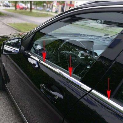 賓士BENZ W211 E-class 車窗外水切 車窗飾條
