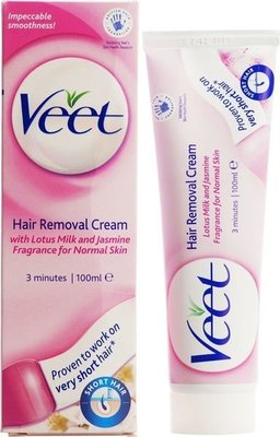 Veet Hair Removal 3 Minute Cream 100ml 3分鐘脫毛膏(中性配方)