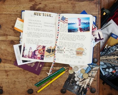 SUCK UK 我的旅行日記本/My Travel Journal 創意旅行記錄本