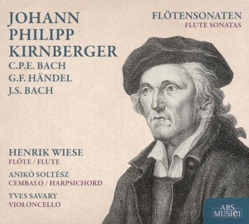 柯恩貝格長笛奏鳴曲 Flute Sonatas---232386