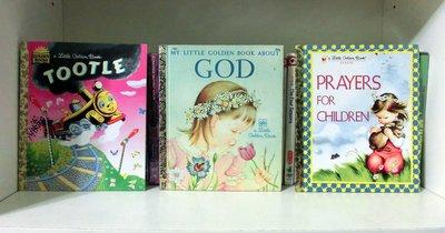 *【兒童英語繪本】*小pen~~Golden books 3本可愛繪本
