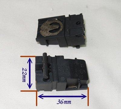 快煮壺 (把手溫控) 適用DY-03G 溫控開關 電源開關 加熱開關13A/250V 尺寸:22*36mm
