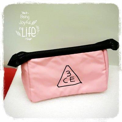 新色☆韓國3CE化妝包(大) 收納包 手拿包 正品 正韓 包中包~♥BuBu彩虹小舖♥