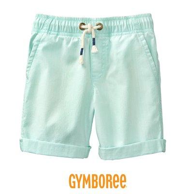 Gymboree 健寶園 🇺🇸美國童裝・男童裝 男童短褲・夏 短褲 五分短褲 反折短褲*清新薄荷綠