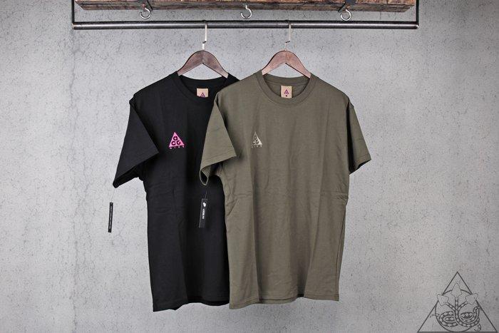 【HYDRA】Nike ACG Logo T-Shirt 刺繡 小Logo 短T【BQ7342-013】