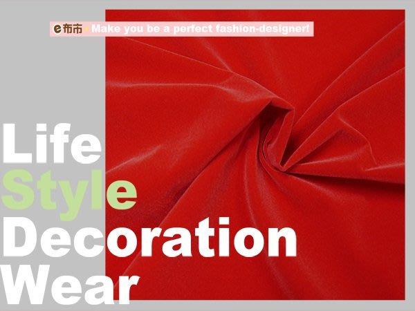 《e布市DIY》紅色0.05公分極短毛絨布/珠寶盒/節慶佈置/新年/聖誕節/聖誕紅/三義木雕/佛像台座[H-00420]