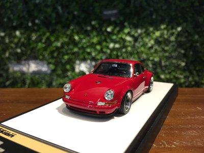 1/43 MakeUp Singer Porsche 911 (964) Deep Red VM111B【MGM】