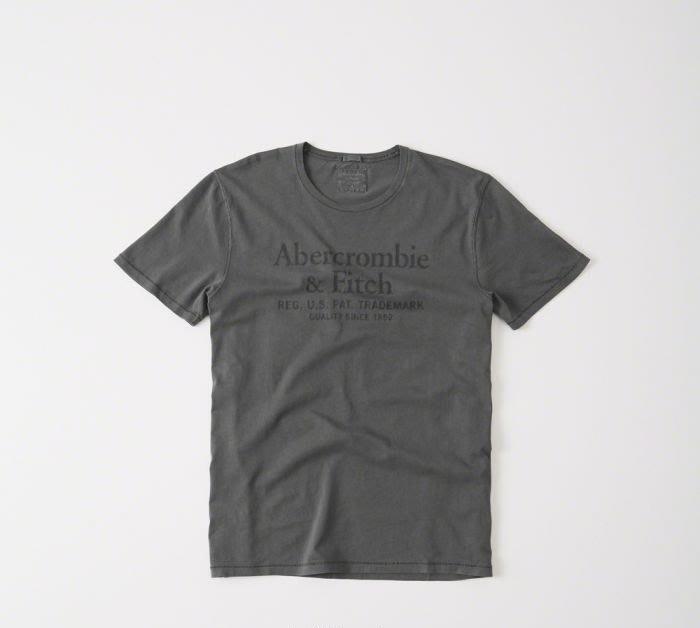 【蟹老闆】Abercrombie&Fitch A&F 美國麋鹿 灰色