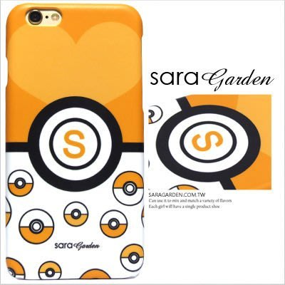 客製化 手機殼 iPhone 7 6 6S Plus【多型號製作】保護殼 精靈寶可夢寶貝球冒險黃 G592