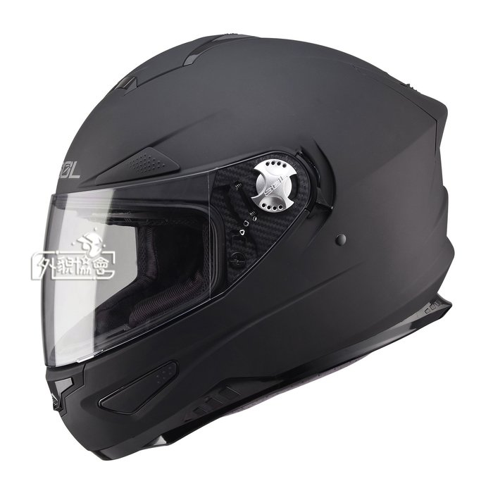 ((( 外貌協會 )))SOL SF-5 全罩安全帽 SF5 素色系列 (消光黑) +本店再加贈好禮~