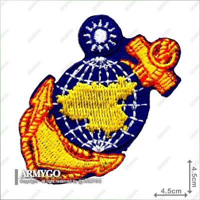 【ARMYGO】海軍陸戰隊隊徽 (彩色版)