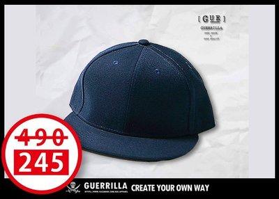 GUE -S15- SNAPBACK - 棒球帽- 丈青【回饋商品】