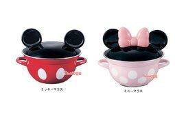 東京家族 DISNEY 米奇 米妮 立體造型 琺瑯2柄鍋 湯鍋 搪瓷鍋現貨