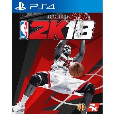 NBA 2K18 傳奇珍藏版- PS4亞洲中文版