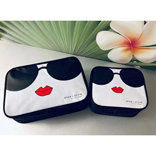 ☆Juicy☆雜誌附錄附贈 alice  olivia 經典 STACEFACE 化妝包 旅行收納袋 萬用包 小物包