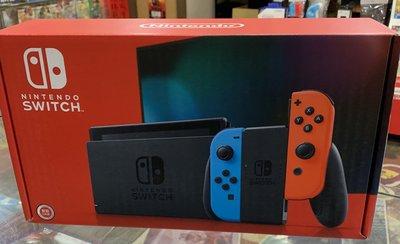 新版 新型號 電力加強版 任天堂 Switch NS 主機 紅藍 SWITCH主機 送玻璃貼(不代貼)[士林遊戲頻道]