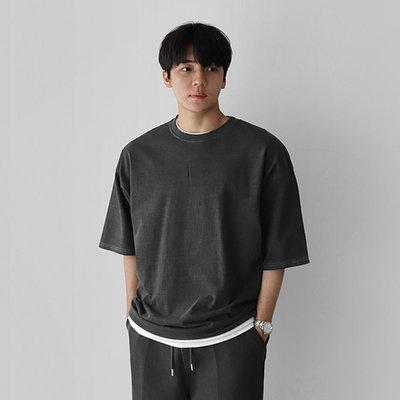 正韓男裝 格里芬夏日短T SET UP 套裝 / 6色 / FD1121537 KOREALINE 搖滾星球