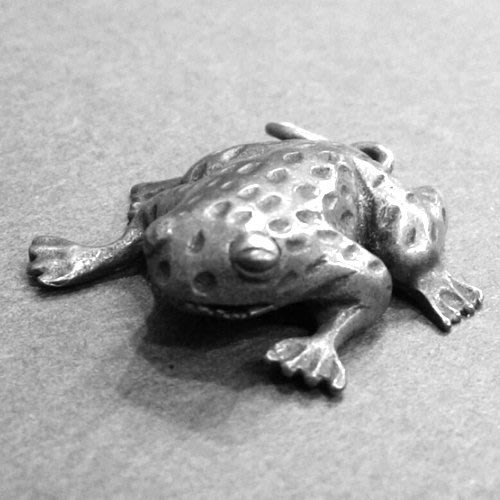 ~Laluna 銀飾豐華~立體青蛙純銀墜子 P3497