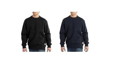 【HOMIEZ 】CARHARTT【100620】HEAVYWEIGHT CREWNECK 大學T 深藍 黑