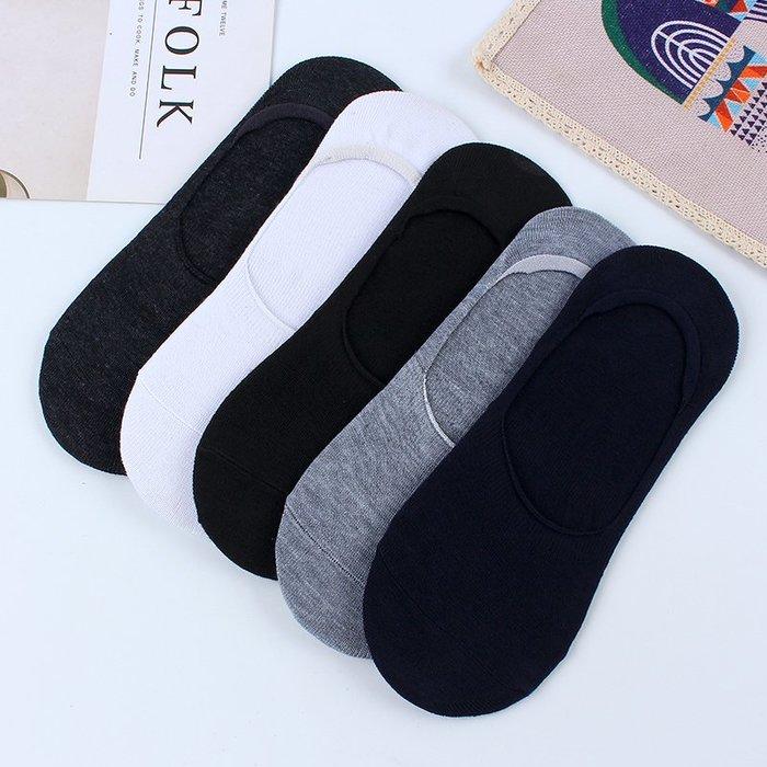 【AMAS】-男士襪子短襪防臭吸汗棉船襪男硅膠防滑夏季潮低幫淺口隱形襪薄款