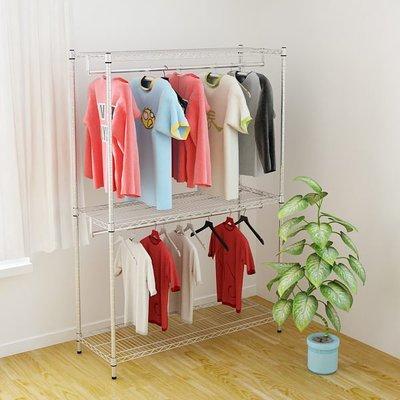 [客尊屋] 重型46X122X180H(接)兒童雙層衣櫥/衣櫃/收納衣物/雙衣桿/衣架/電視櫃/鞋櫃/多層架
