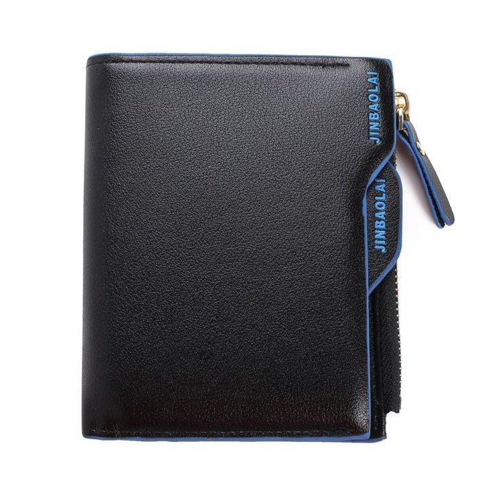 【良品好物】男士商務多功能真皮短夾皮夾 錢夾卡夾零錢包小包包